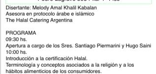 Usos y Costumbres sobre el mundo islámico y la Certificación Halal para los productos