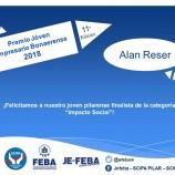 Premio joven empresario bonaerense Alan Reser