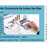 Charla: Economía de todos los días