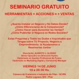 Seminario gratuito | Herramientas+Acciones=+Ventas