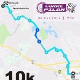 Los jóvenes colaborando en Corre Pilar 10k / 3k