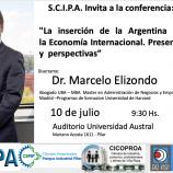 SCIPA invita a la conferencia