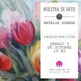 MUESTRA DE ARTE EN SCIPA PILAR -TALLER TRISKEL- EXP. NATALIA SGANGA