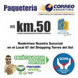 Correo argentino en km50