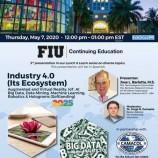 Invitación especial para los que deseen recibir un Webinar sobre temas de avanzada de tecnología e innovación que organiza la Universidad de Miami