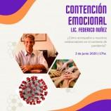 WEBINAR CONTENCION EMOCIONAL – 03 DE JUNIO 17 HS