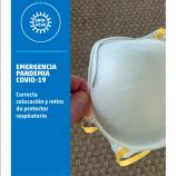 Correcta colocación y retiro de protector respiratorio