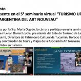 5º seminario virtual – Turismo Urbano