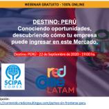 Destino: Perú – Webinar gratuito
